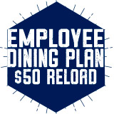 Employee Dining Plan - $50 Reload