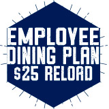 Employee Dining Plan - $25 Reload