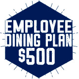 Employee Dining Plan - $500 Declining Balance